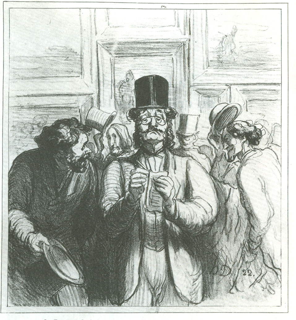 Honoré Daumier - The Critic
